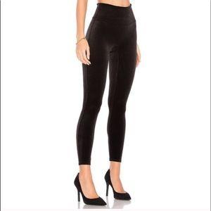 NEW Spanx velvet leggings small black